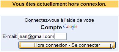 Gmail en mode hors connexion