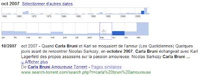 Chronologies dans Google Actualités