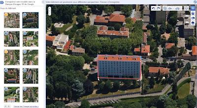 Google Modélisateur de bâtiments 3D ou Google Building Maker