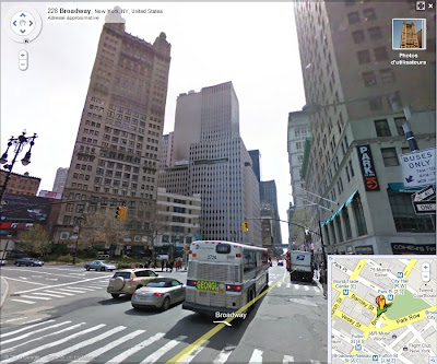 Google Street View : Broadway