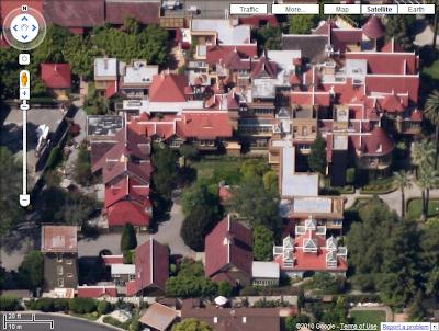 Vues aériennes dans Google Maps