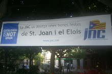 Pancarta al Passeig