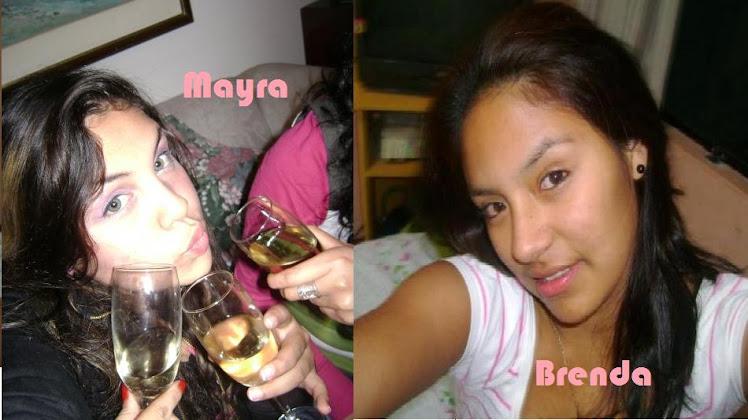 Mayra y Brenda