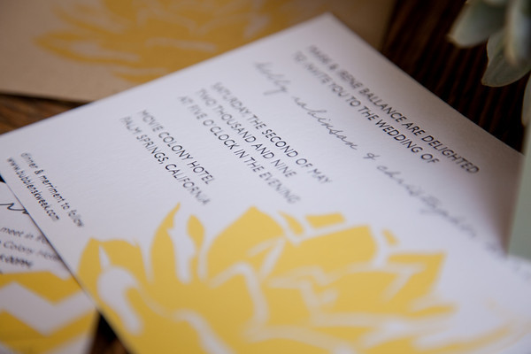Yes Please Our Wedding Invitation Inspiration