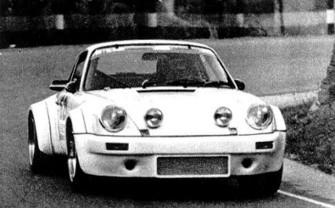 Josep Trabal, amb Porsche 911 Carrera RSR guanyador de la prova disputada al 1978