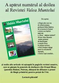 Revista Valea Muntelui nr. 2 o puteti citi dand click pe imaginea afisului