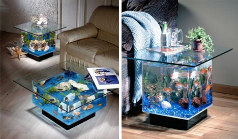 Funtrublog: Awesome Aquariums - 5 Cool Modern Fish Tank Designs