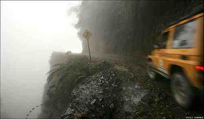 North Yungas Road Seen On  www.coolpicturegallery.us
