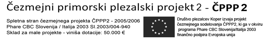 Čezmejni primorski plezalski projekt 2 - ČPPP2