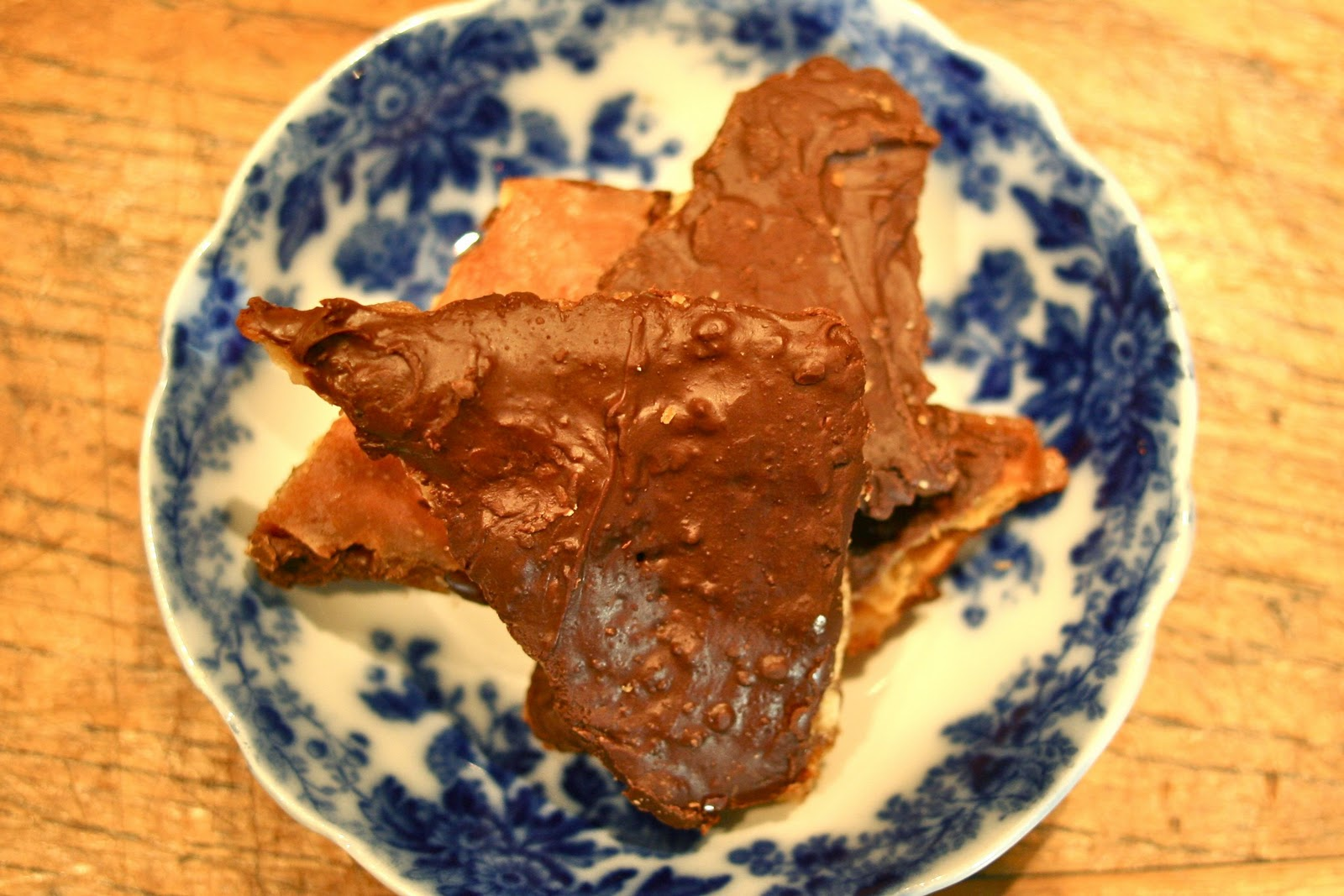 Chocolate Caramel Cookie Brittle... or How I Became a Real ...