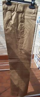 pantalon zara taupe