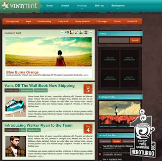 VintMint – WPNow Premium Wordpress Theme