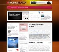 Mobile Plazza - iPhone Ready Joomla Template