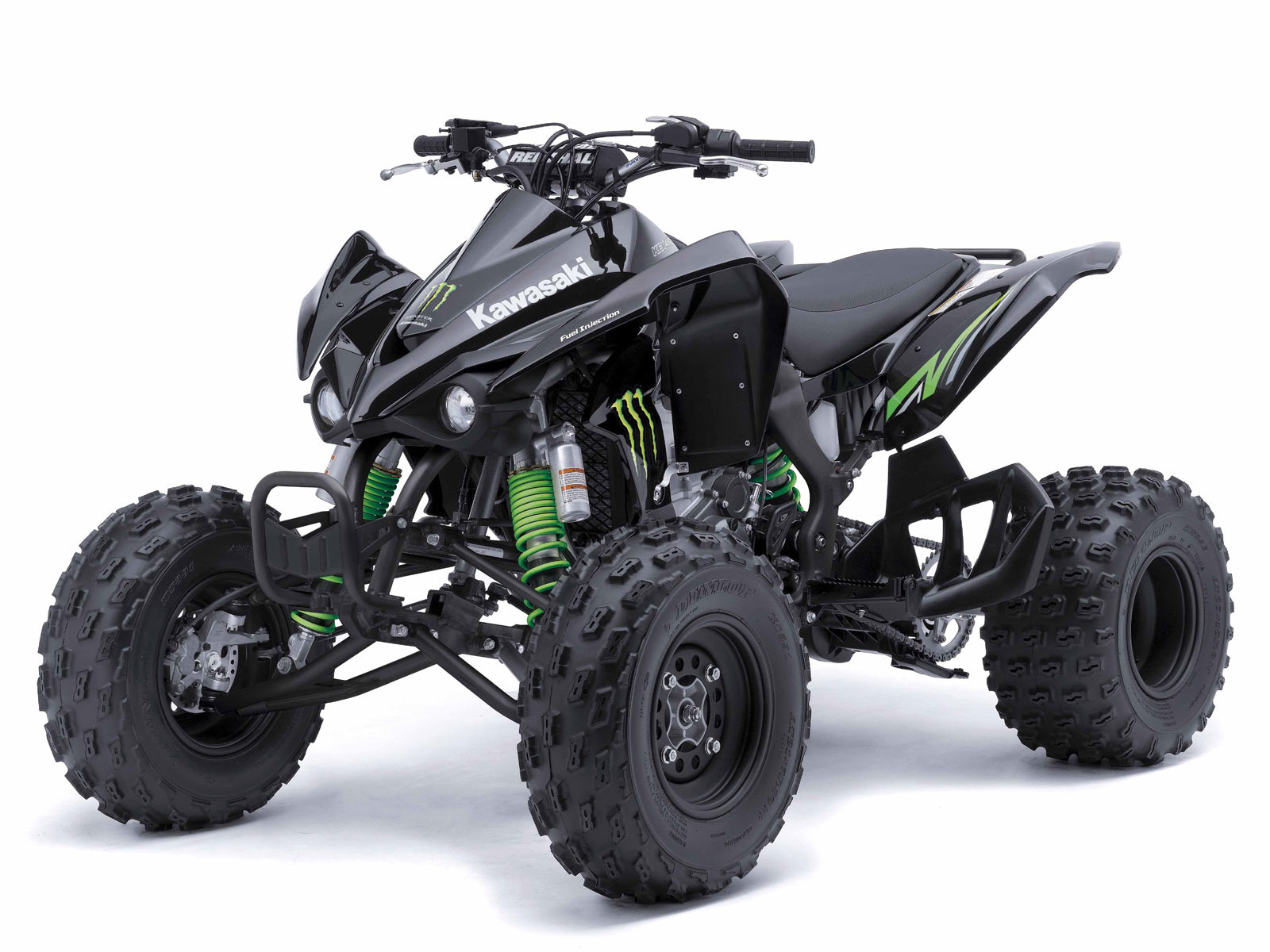 2009 kfx 450r monster energy kawasaki atv wallpapers. Black Bedroom Furniture Sets. Home Design Ideas