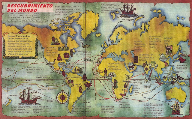 """Imagen de creartehistoria: """"El comercio a partir del siglo XV"""""""