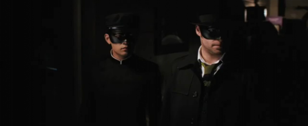 Movie Review:THE GREEN HORNET(2011)** out of