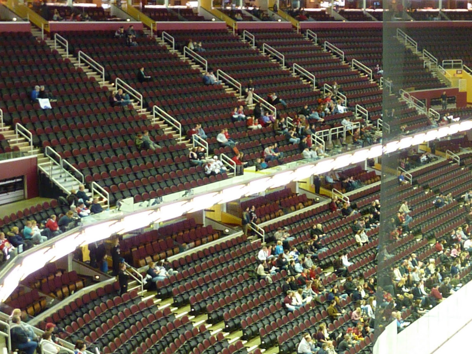 Seating charts quicken loans arena official website - Wednesday January 5 2011