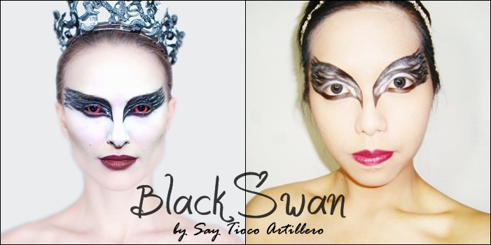 black swan makeup natalie portman. -Thomas Leroy, Black Swan