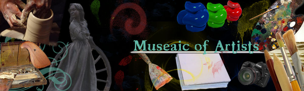 Museaic of artists