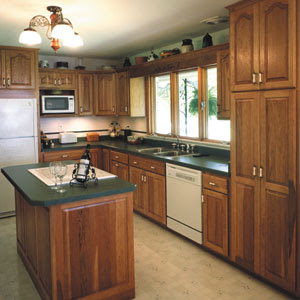 small kitchen remodeling. Although stainless