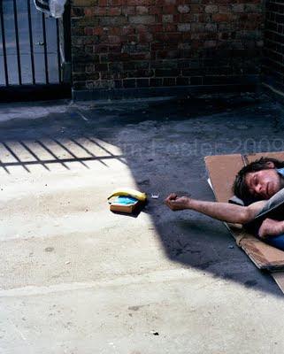 how to help a homeless drug addict