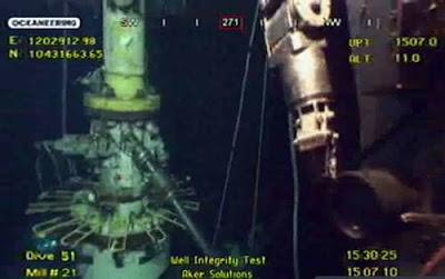 robots submarinos en el Golfo de Mexico