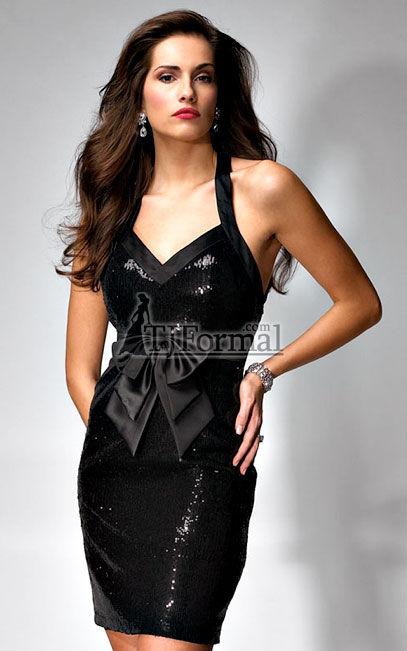 Tj Formal Dress Blog Black Sequined Formal Dresses Are All The Rage