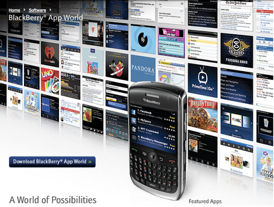 BlackBerry App World Turkiye'de