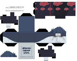 Kisame Papercraft