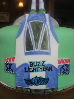 Buzz Lightyear Cake, Las Vegas Cakes