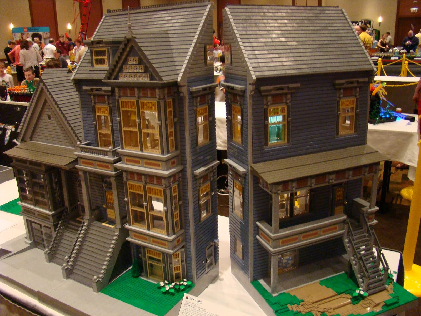 Single LA Dad Photos 20 Pictures Of Lego Victorian Homes