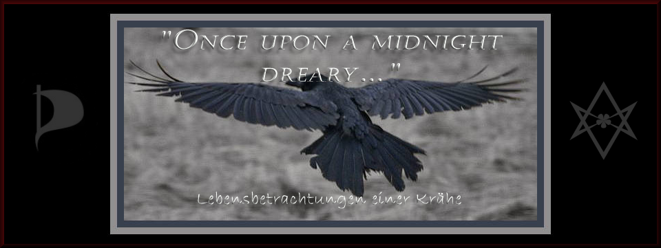 """Once upon a midnight dreary"""