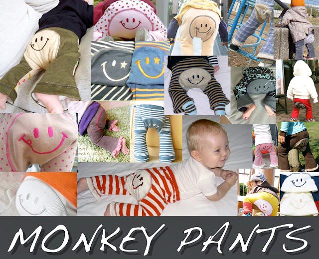 Japanese Monkey Pants Cutest Baby Photo Contest