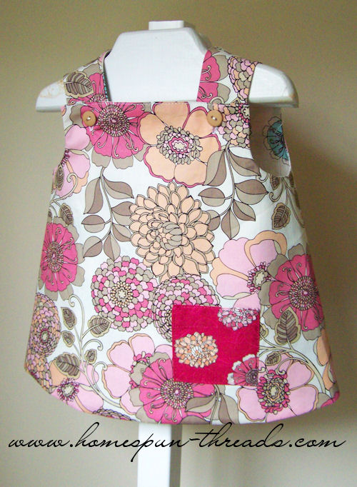 Randomness by Petchy: FREE PATTERN : BABY DRESS/TUNIC