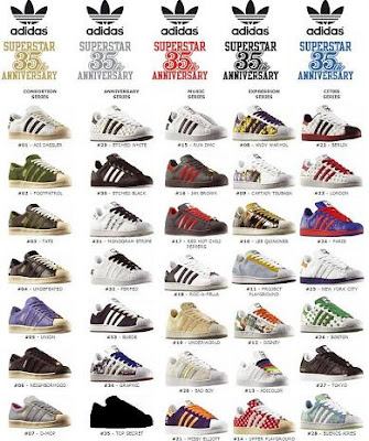 Adidas Superstar Modelos Hombre