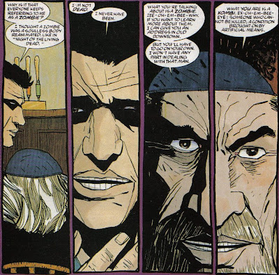Rabbi Sinnowitz hates Brother Voodoo.  And Robert Kirkman.  They know why.