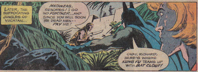 Only a zen master like Richard Dragon could keep a straight face against a line like 'Bat clout.'