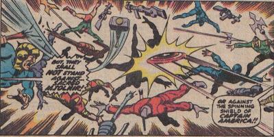 That's like twelve skulls cracked in one panel.  Love it.