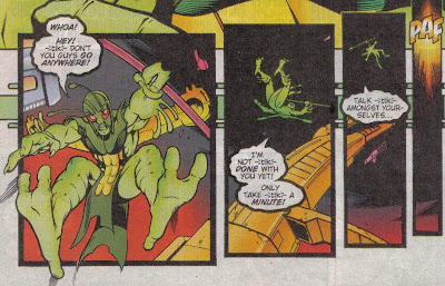 They probably should've put Bug into the rotation from here, but still a great, fun issue.