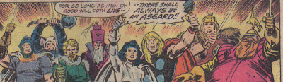 Um, Thor, Asgard's been gone for like three years...which explains a lot, yeah.