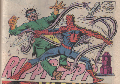 Count yourself lucky Spidey pulled off the metal ones, Ock.