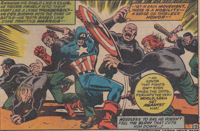 They knocked Cap out?  Obviously hired but not trained by Batroc...
