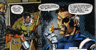 Which is what Marvel had to do with the Punisher after this one:  bury him  for a few years, until all this blew over.