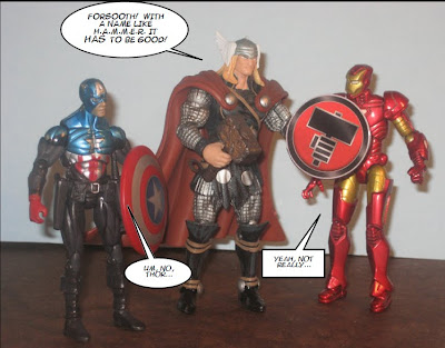 Avengers dissemble!  Yes, dissemble.  Look it up!