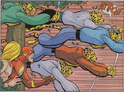 Wait, do cheetahs usually attack apes, or am I just thinking of old Tarzan comics?