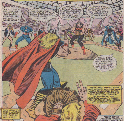 Fine, you don't have to use the aluminum bat, Thor.