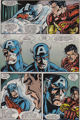 Wait, Cap, you're feeling sorry for yourself, for NOT being paralyzed?