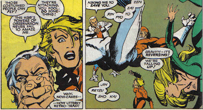 I don't think Claremont nailed much of John's dialog.