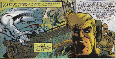I think I've seen that bit before, but in the Marvel Universe, Moby Dick is a helluva read.