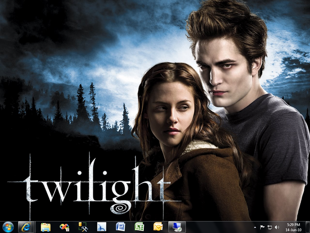 Twilight movie theme for win 7
